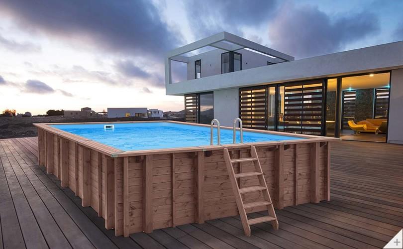 piscina legno
